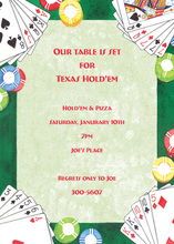 Poker Gaming Invitations
