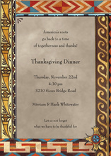 Traditional American Indian Invitations